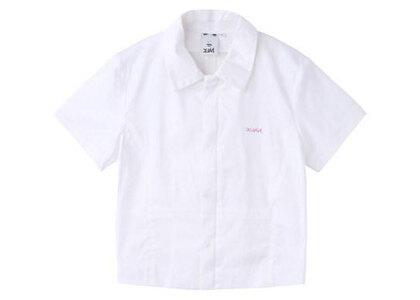 X-Girl Fitted Shirt Whiteの写真