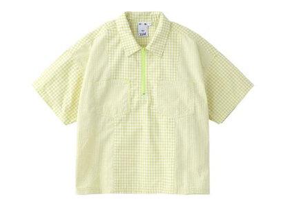 X-Girl Gingham Plaid Shirt Light Greenの写真