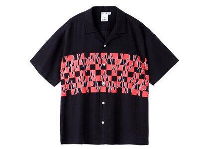 X-Girl Hotrod S/S Shirt Blackの写真