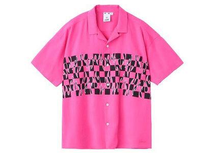 X-Girl Hotrod S/S Shirt Pinkの写真