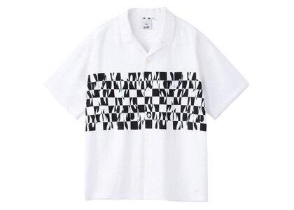 X-Girl Hotrod S/S Shirt Whiteの写真