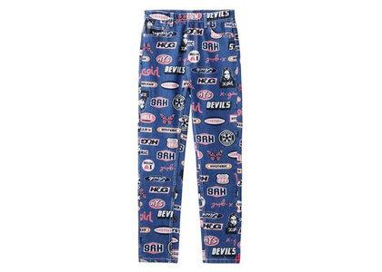 X-Girl Hysteric Glamour × X-Girl Icons 5-Pocket Denim Pants Indigoの写真