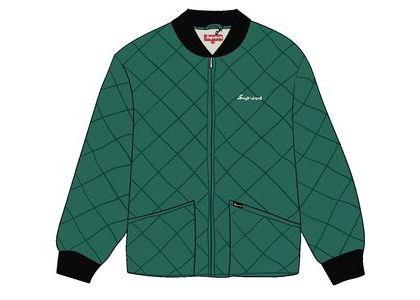 Supreme dead prez Quilted Work Jacket Dark Greenの写真
