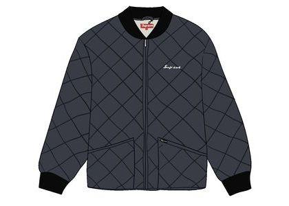 Supreme dead prez Quilted Work Jacket Blackの写真