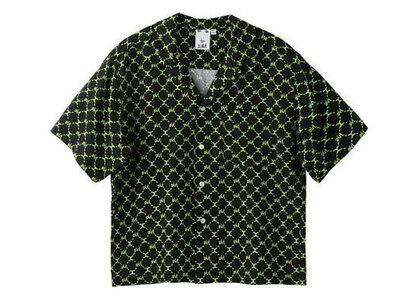 X-Girl Monogram S/S Shirt Blackの写真