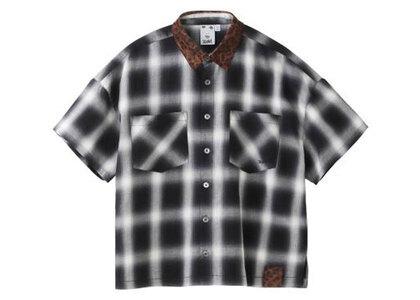 X-Girl Ombrere Plaid Shirt Grayの写真