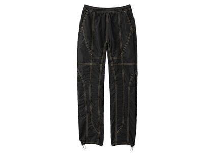 X-Girl PatchWork Pants Blackの写真