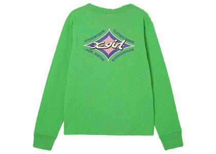 X-Girl Rhombus Logo Regular L/S Tee Greenの写真