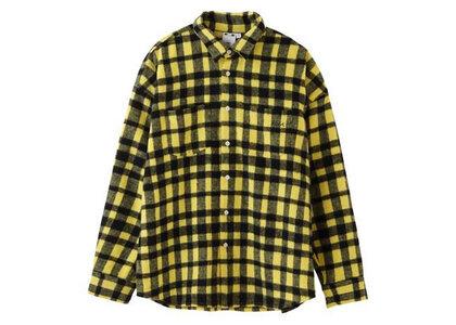 X-Girl Shaggy Plaid L/S Shirt Yellowの写真