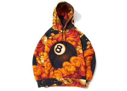 Supreme Martin Wong 8 Ball Hooded Sweatshirt Multiの写真