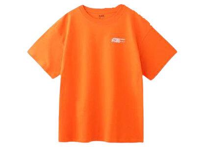X-Girl Stamp S/S Mens Tee Orangeの写真