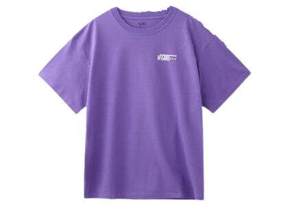 X-Girl Stamp S/S Mens Tee Purpleの写真