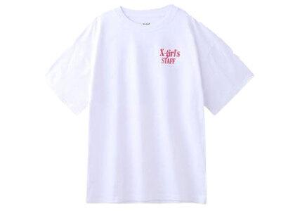 X-Girl Stuff S/S Mens Tee Whiteの写真
