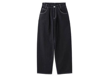 X-Girl Wide Tapered Pants Black (1-2)の写真