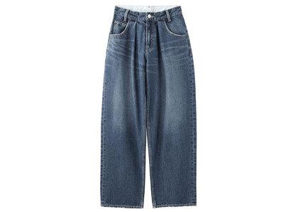 X-Girl Wide Tapered Pants Indigo (1-2)の写真