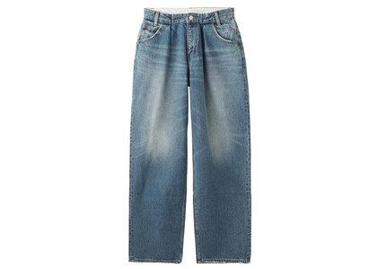 X-Girl Wide Tapered Pants Light Indigo (1-2)の写真