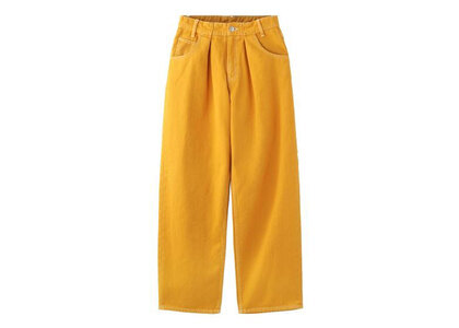 X-Girl Wide Tapered Pants Yellow (1-2)の写真