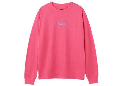 X-Girl XG Nyc Regular L/S Tee Pinkの写真