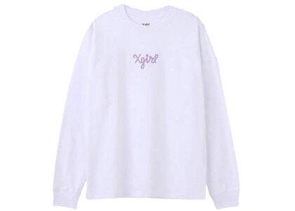 X-Girl XG Nyc Regular L/S Tee Whiteの写真