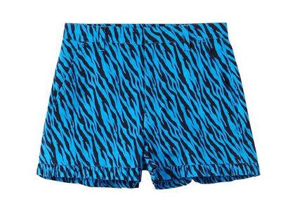 X-Girl Zebra Frill Short Pants Blueの写真