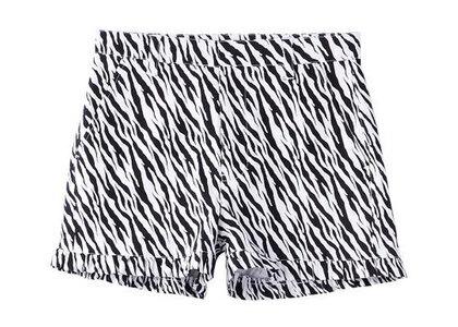 X-Girl Zebra Frill Short Pants Whiteの写真