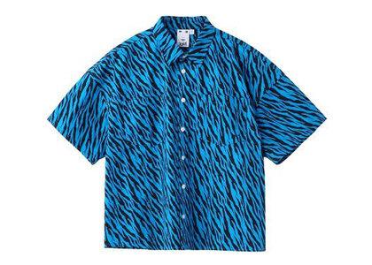 X-Girl Zebra Shirt Blueの写真