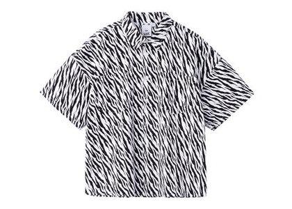 X-Girl Zebra Shirt Whiteの写真