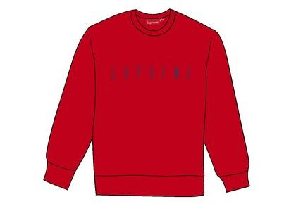 Supreme Fuck You Crewneck Redの写真