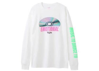 Romy × X-Girl Disc L/S Tee Whiteの写真