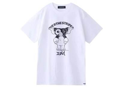 Gremlins × X-Girl × Over The Stripes Gizmo Tee & Doll Set Whiteの写真
