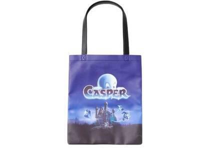 X-Girl × Casper Tote Bag Blackの写真