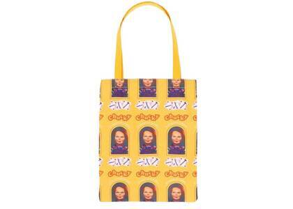 X-Girl × Childs Play Chucky Tote Bag Yellowの写真