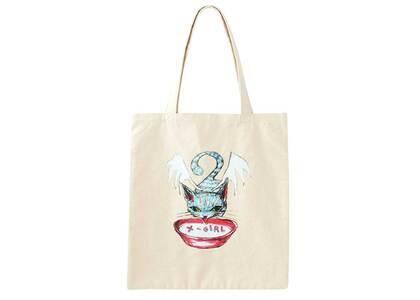 X-Girl × Eri Wakiyama Tote Bag Blueの写真