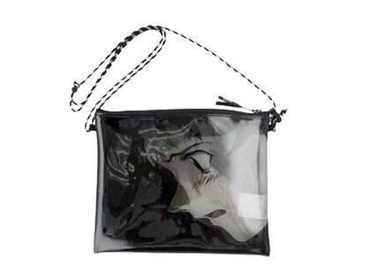 X-Girl × Evangelion Pvc Sacoche Bag Blackの写真
