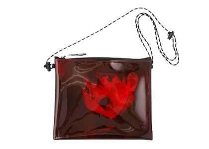X-Girl × Evangelion Pvc Sacoche Bag Dark Redの写真