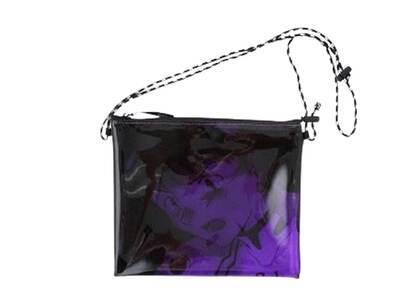 X-Girl × Evangelion Pvc Sacoche Bag Purpleの写真