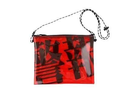X-Girl × Evangelion Pvc Sacoche Bag Redの写真