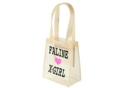 X-Girl × Faline Mini Tote Bag Goldの写真