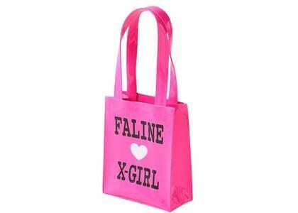 X-Girl × Faline Mini Tote Bag Pinkの写真