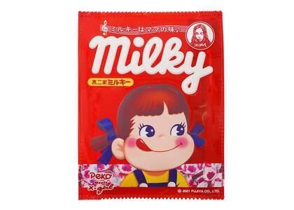 X-Girl × Peko Milky Package Clear Pouch Redの写真