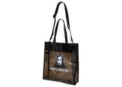 X-Girl Angel Face Big Tote Bag Blackの写真