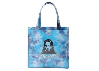 X-Girl Angel Face Clear Tote Bag Blueの写真
