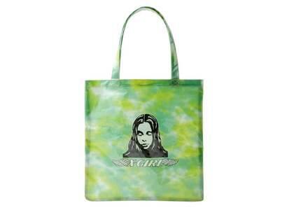 X-Girl Angel Face Clear Tote Bag Light Greenの写真