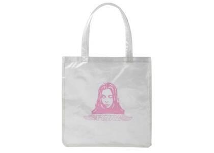 X-Girl Angel Face Clear Tote Bag Whiteの写真