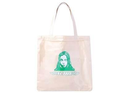 X-Girl Angel Face Tote Bag Whiteの写真