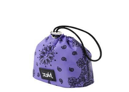 X-Girl Bandana Pattern Pouch Purpleの写真