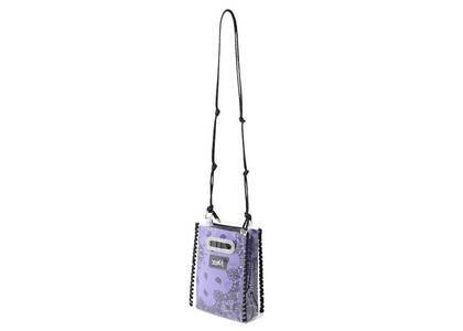 X-Girl Bandana Pattern Shoulder Bag Purpleの写真