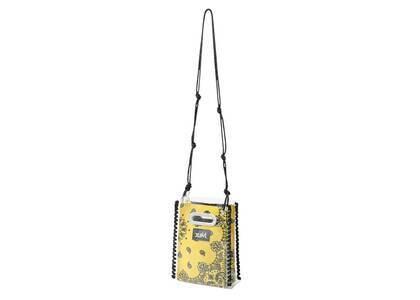 X-Girl Bandana Pattern Shoulder Bag Yellowの写真
