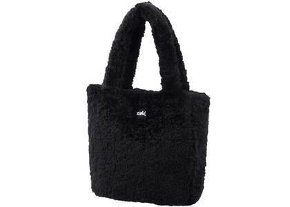 X-Girl Boa Tote Bag Blackの写真