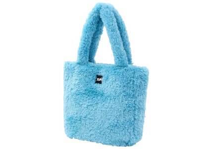 X-Girl Boa Tote Bag Light Blueの写真
